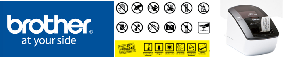 Consumibles impresoras de etiquetas Brother QL y TD