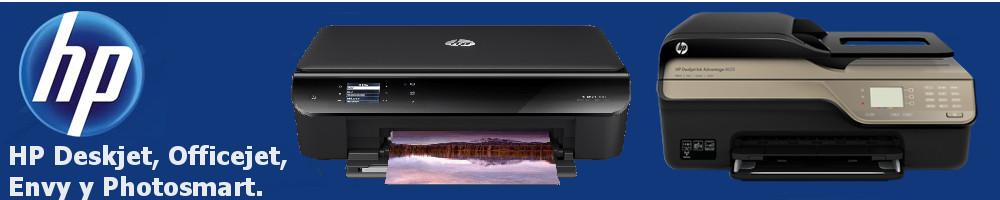 Multifunción HP Deskjet, Officejet, Envy,... Cartuchos HP