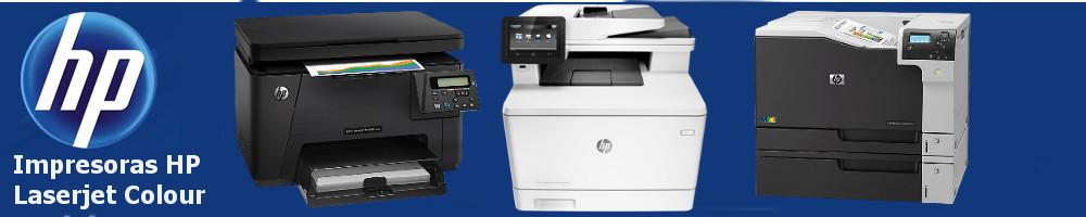 Impresoras HP Laserjet Colour. Toner HP.