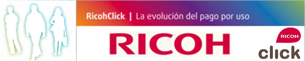 RicohClick. Sistema de pago por uso de Ricoh.
